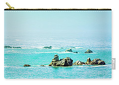 Sunny Pacific Ocean Oregon Coast Carry-all Pouch