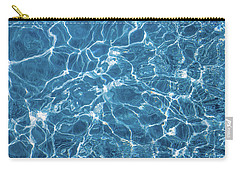 Carry-all Pouch featuring the photograph Sunny Reflections On Tropical Water by Jenny Rainbow
