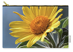 Carry-all Pouch featuring the photograph Sunny Side Up  by Saija Lehtonen