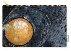 Sunny Side Up Carry-all Pouch by T Fry-Green