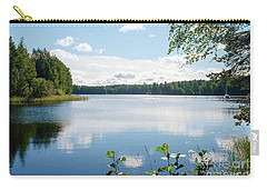 Sunny Summer Day In Kangaslampi Finland Carry-all Pouch