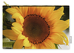 Carry-all Pouch featuring the photograph Sunny Sunflower by Jordan Blackstone