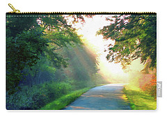 Sunny Trail Carry-all Pouch by Cedric Hampton