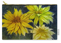 Sunny Yellow Carry-all Pouch by Barbara O'Toole