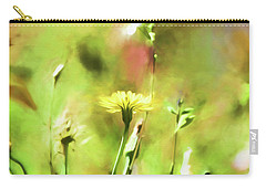 Sunny Yellow Flower Carry-all Pouch