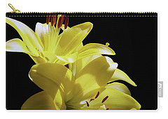 Sunny Yellow Lilies Carry-all Pouch