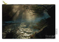 Sunrays At Fork River Carry-all Pouch