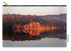 Sunrise And Harmony Carry-all Pouch by Debbie Oppermann