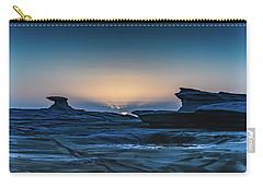 Sunrise And Rock Platform Landscape Carry-all Pouch
