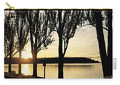 Sunrise And Silhouettes  Carry-all Pouch