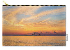 Carry-all Pouch featuring the photograph Sunrise And Splendor by Bill Pevlor