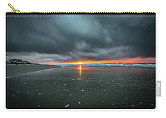Sunrise And Storm Clouds - Isle Of Palms, Sc Carry-all Pouch