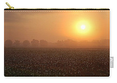 Sunrise And The Cotton Field Carry-all Pouch