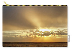Sunrise And Wheat 04 Carry-all Pouch