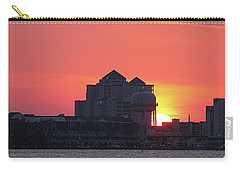 Sunrise At 17th St Carry-all Pouch by Robert Banach