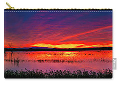 Sunrise At Bosque Del Apache Carry-all Pouch