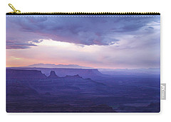 Carry-all Pouch featuring the photograph Sunrise At Canyonlands by Marie Leslie
