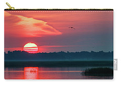 Sunrise At Cheyenne Bottoms 03 Carry-all Pouch