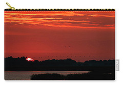 Sunrise At Cheyenne Bottoms 04 Carry-all Pouch