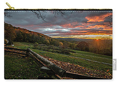 Sunrise At Cone House Carry-all Pouch