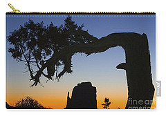 Sunrise At East Mitten Carry-all Pouch by Jerry Fornarotto