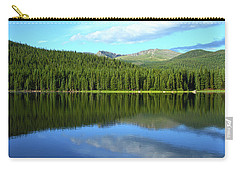 Carry-all Pouch featuring the photograph Sunrise At Echo Lake by Marie Leslie
