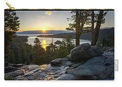 Sunrise At Emerald Bay In Lake Tahoe Carry-all Pouch