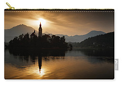 Sunrise At Lake Bled Carry-all Pouch