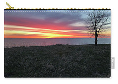 Sunrise At Lake Sakakawea Carry-all Pouch