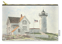 Sunrise At Nubble Light Carry-all Pouch
