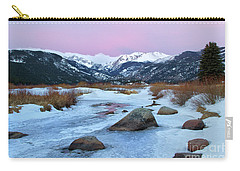 Sunrise At Rocky Mountain National Park Carry-all Pouch by Ronda Kimbrow