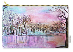 Sunrise At Sarah's Grove Carry-all Pouch
