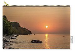 Sunrise At The Cliffs Carry-all Pouch