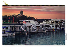 Lake Murray Sunrise At The Marina Carry-all Pouch by Tamyra Ayles