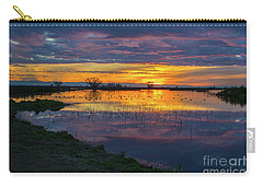 Sunrise At The Merced National Wildlife Refuge Carry-all Pouch