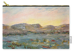 Sunrise At The Pond Carry-all Pouch