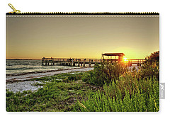 Sunrise At The Sanibel Island Pier Carry-all Pouch
