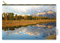Sunrise At The Tetons Carry-all Pouch