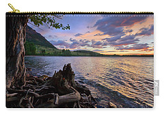 Sunrise At Waterton Lakes Carry-all Pouch by Dan Jurak