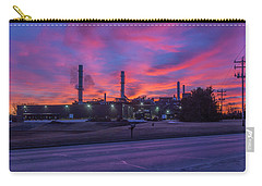 Sunrise At Waupaca Foundry Plants 2 And 3 3-24-2018 Carry-all Pouch
