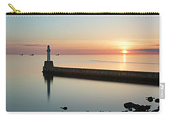 Sunrise Behind South Breakwater Carry-all Pouch