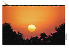 Carry-all Pouch featuring the photograph Sunrise Bliss by Shelby Young
