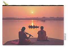 Sunrise By The Ganges Carry-all Pouch