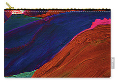 Carry-all Pouch featuring the painting Sunrise Castle 2  by First Star Art