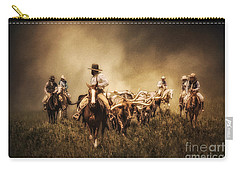 Sunrise Cattle Drive Carry-all Pouch