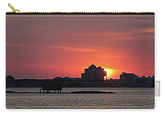 Sunrise Circles The Water Tower Carry-all Pouch by Robert Banach