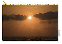 Sunrise Cloud Break Delray Beach Florida Carry-all Pouch