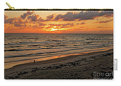 Carry-all Pouch featuring the photograph Sunrise Daytona by Paul Mashburn