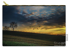 Sunrise Flight Carry-all Pouch by Thomas R Fletcher