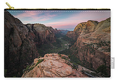 Sunrise From Angels Landing Carry-all Pouch